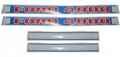 New Holland Ford Tractor Hood Decal Set 4000 C9nn16n682e C9nn16n683e 81822595