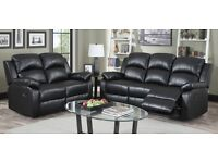 100% Cheapest Price offer - Italian Leather 3+2 seater sofa set - Brand new same day delivery