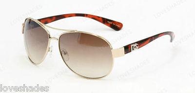 (DG Eyewear New Fashion Aviator Shades Sunglasses Retro Womens Mens Tortoise)