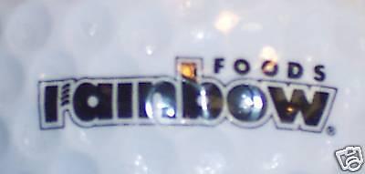 FOOD (1) RAINBOW FOODS            LOGO GOLF  BALL BALLS (Foods Logo Golf Ball)