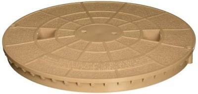 Bermuda Gunite Skimmer (Pentair 516216 Tan Deck Lid Replacement Bermuda Gunite and Vinyl Liner Skimmer)