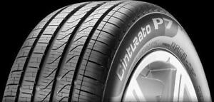SET of 4 RUNFLAT ~~~ 245/50R18 Pirelli Cinturato P7 ALL-SEASON ~~~ BMW X3 xDrive Original ~~~ 70%tread