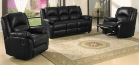 Brand New Leather Suite 3+1+1 ***Free Delivery***