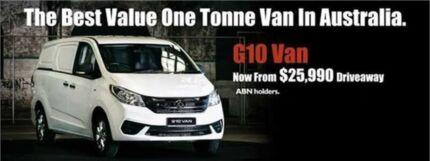 2016 LDV G10 SV7C White 6 Speed Manual Van
