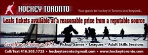 PICKUP ICE HOCKEY IN GTA Games everyday - over 100 games a week