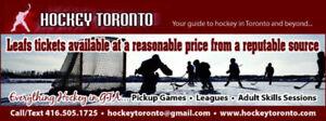 Hockey this week!!  Pickup hockey, leagues, tournaments