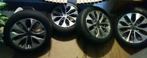 honda accord oem 4 wheels 17 pouces inches 2013-2015 5x114