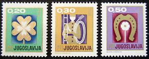 JUGOSLAVIA-1967-ANNO-NUOVO-SERIE-COMPLETA-NUOVI-COME-DA-FOTO
