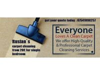 Carpet cleaning and upholstery cleaning