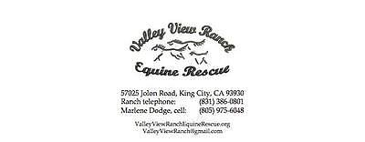 Valley View Ranch Equine Rescue