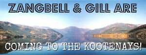 Zangbell and Gill Are Coming to the Kootenays!