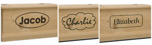 Handmade Solid Wood Engraved Toy Chests- SHOP LOCAL THIS YEAR London Ontario image 8