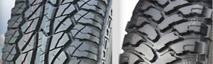 $550-600 TOTAL PRICE Road Force A/T & M/T LT265/70/17 10ply-NEW