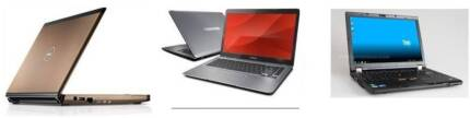 3 sets intel core i5 laptop/ 4gb ram/320gb hdd
