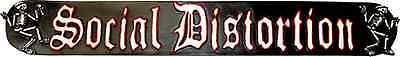 62012 Social Distortion Punk Rock Dancing Skeleton Incense Burner Gift Logo 80s