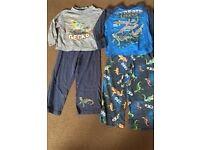 Boys night wear and pyjamas bundle age 2-3 years