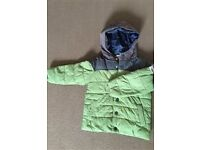NEXT boys green jacket age 3-4