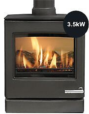 Gas Log Burner - Yeomans CL5 Contemporary Gas Stoves
