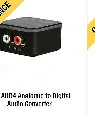 Analogue to digital audio converter