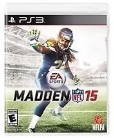 Madden NFL 15 game for PS3