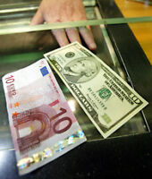 Currency Exchange Euro for US Dollars