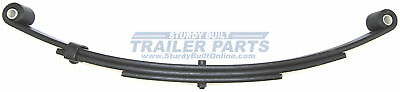 "(Qty 2)- Boat Trailer Leaf Springs Double Eye 25.25"" 3 Leaf 4000 lbs Capacity"