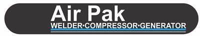 Miller Electric Welder Air Pak Weldercompressorgenerator Replacement Decal