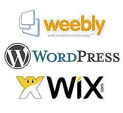 Affordable Websites (Wordpress, Wix or Weebly)