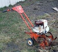 Wanted Rototiller needed for our family cash paid