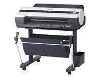 Canon imagePROGRAF iPF605 A1 Wide Format printer plotter