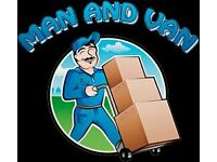MAN AND VAN FOR DELIVERY OR COLLECTION OF ANY GOODS.