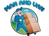 24/7 SHORT NOTICE MAN&LUTON ANY CHEAP VAN REMOVAL HOUSE OFFICE BIKE PIANO DUMP RUBBISH WASTE MOVERS