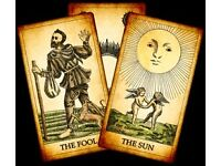 Tarot card readings available through email. £8