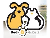 BED AND BISCUITS pet sitting services