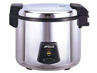 'Apollo' Rice Cooker 36 portion - UNUSED