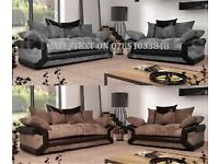 Brand new sofas and free pouffe
