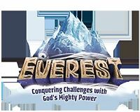 Everest VBS leftover Bible Memory Buddies & supplies
