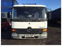 2002 Mercedes Atego Flat Bed Lorry 7.5 Tonne 4250 Suitable for Export