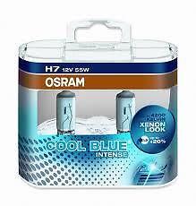 Lampadine H7 12V 55 w OSRAM Cool Blue Intense 64210 CBI  eBay