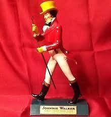 Johnny Walker advertising figure pub 1960s