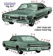 Looking for 1967 cutlass supreme
