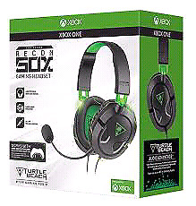 BRAND NEW FACTORY SEALED Turtle Beach Recon x50 Xbox One
