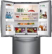 Samsung fridge RF217ABRS used