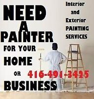 Toronto North York Painting Services home and residential
