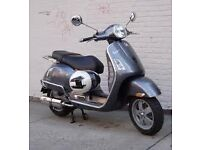 *VeSpA GT 125cc *New Parts *TK Exhaust *V5 *Service Book *28k Miles *Chain Lock *New Tucano Cover