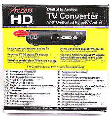 HD CONVERTER BOX WITH REMOTE & INSTRUCTIONS NEW IN BOX!!