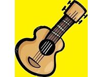 GUITAR/BASS/UKULELE TUITION - HAMPTON - SW LONDON
