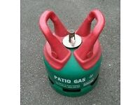 £ 15 - EMPTY Calor Gas 5 kg Propane PatioGas bottle/cylinder with regulator***BBQ***CAMPING**