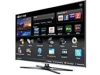 "55""smart TV £350 ,ONO and guaranteed."