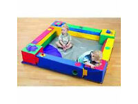 """Large 8"""" square ball pool very good quality, never used to big for house i paid £1600"""